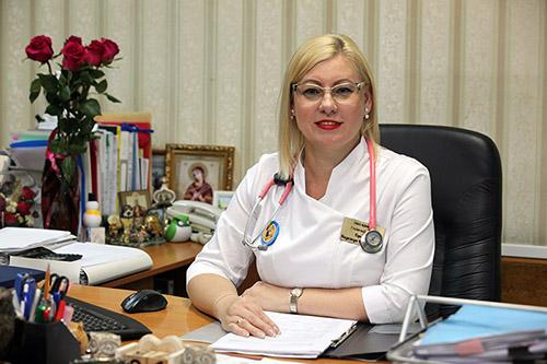 ККЦ СВМП, Краевой клинический центр специализированных видов медицинской помощи, Надежда Горелик