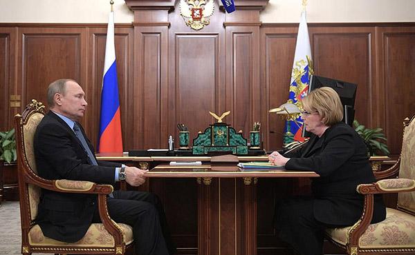Владимир Путин озадачил Веронику Скворцову