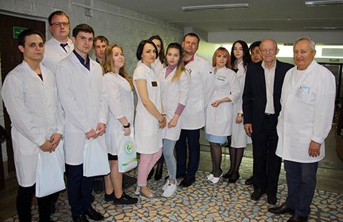 Андрей Грибань, Виктор Фисенко, Владимир Супрунов, Находкинская городская больница