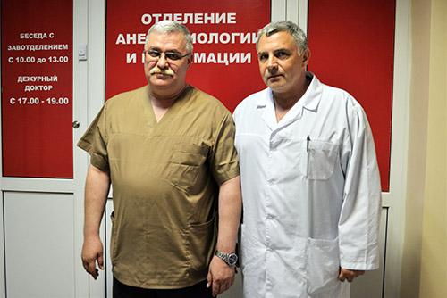 Андрей Скирута, Андрей Ячменев, Уссурийская центральная городская больница