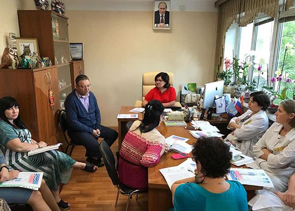 Анжела Кабиева, ВКДЦ, Владивостокский клинико-диагностический центр, Лариса Дробот, Наталья Бисекенова