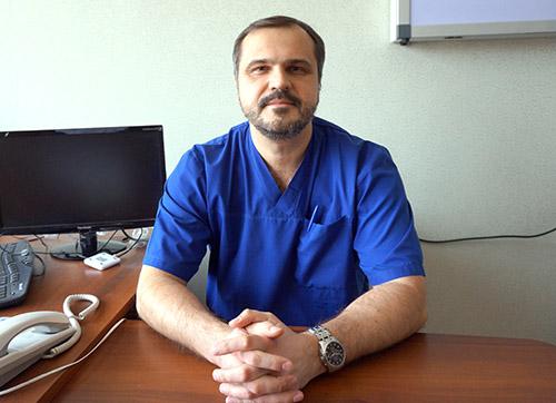 Владивостокская клиническая больница №2, Юрий Збань
