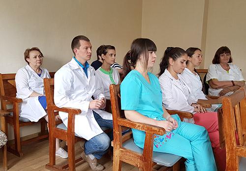 Ольга Зуева, Хасанская центральная районная больница, Хасанская ЦРБ, Юлия Моглилевская