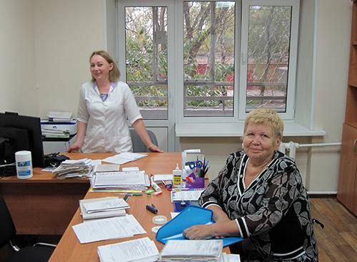 Андрей Скирута, Светлана Балис, Светлана Петтай, Уссурийск, Уссурийская центральная городская больница
