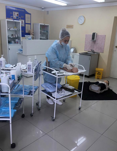 Ирина Буркутова, Уссурийский медицинский колледж, медицинское образование