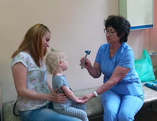 Владивостокская детская поликлиника №2, Елена Москалёва, медкомиссия в школу, педиатрия