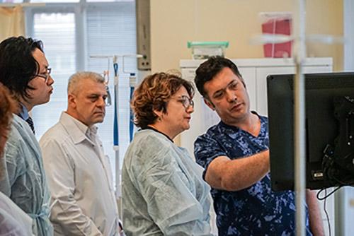Виктор Фисенко, Елена Мазыгула, нацпроект, Приморская краевая клиническая больница №1