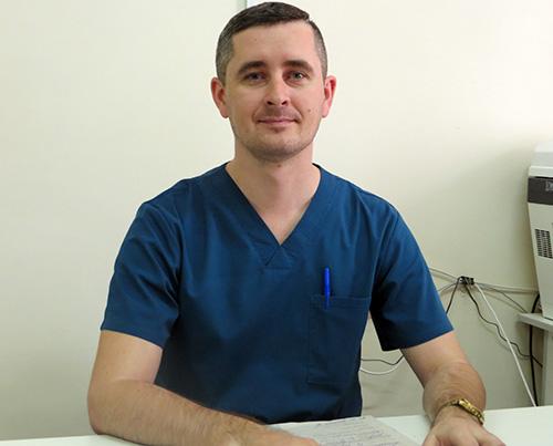 Павел Литвиненко, Черниговская центральная районная больница, Эдуард Косьяненко