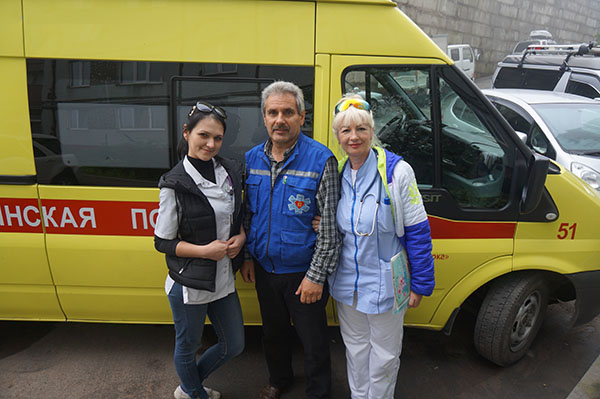 Дмитрий Чурилов, Станция скорой медицинской помощи г. Владивостока