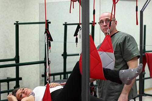 Дмитрий Погребной, кинезиотерапия, реабилитация, Региональный медицинский центр Лотос, Экзарта