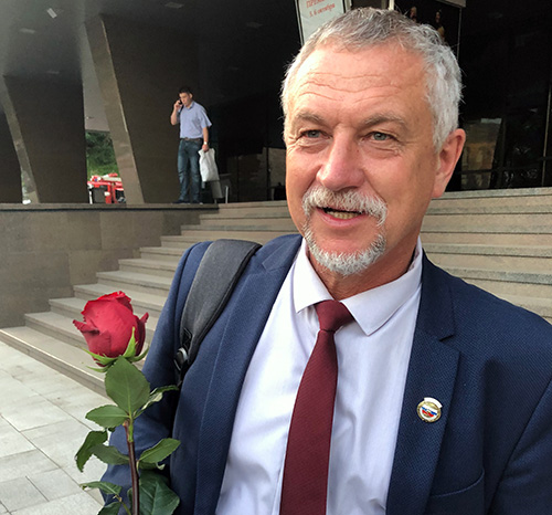 Владимир Апанасевич, Ирина Глушко, Маммологический центр, профессор
