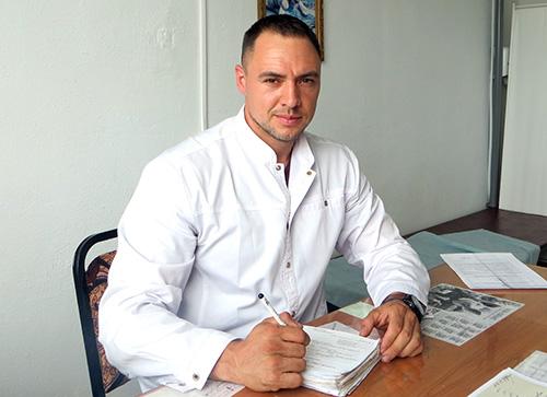 Николай Черевко, Сибирцево, Черниговская центральная районная больница