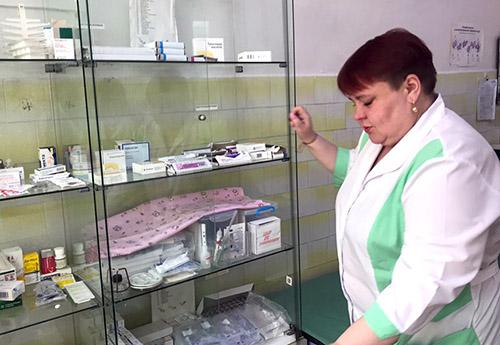 Лучегорск, Ольга Путинцева, Пожарская центральная районная больница, Пожарская ЦРБ