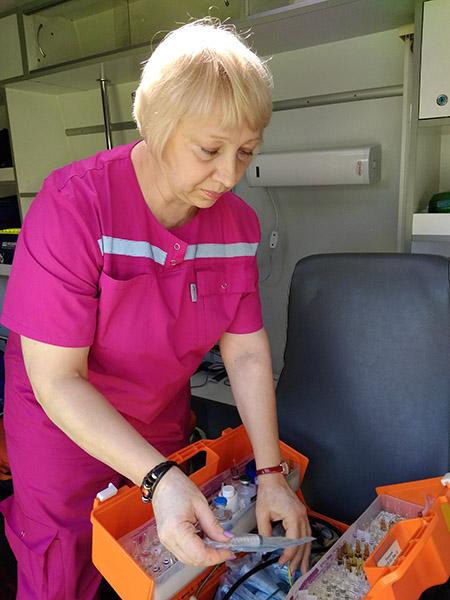 Ирина Куцак, Лучегорск, Нина Корбко, Пожарская центральная районная больница