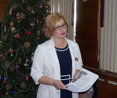 Елена Кравченко, Краевая детская клиническая больница №1, Надежда Горелик