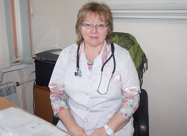 Дальнегорская центральная городская больница, Елена Кладкевич