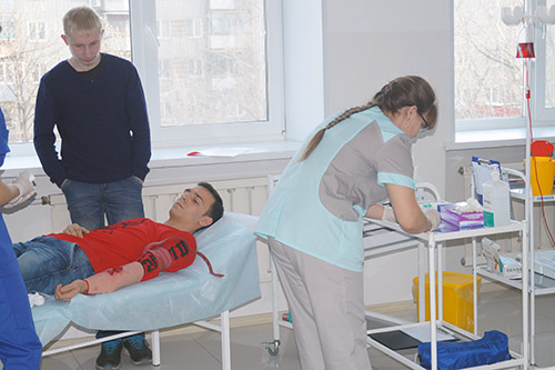 Ирина Буркутова, Ирина Иванченко, Ольга Артамонова, Уссурийский медицинский колледж