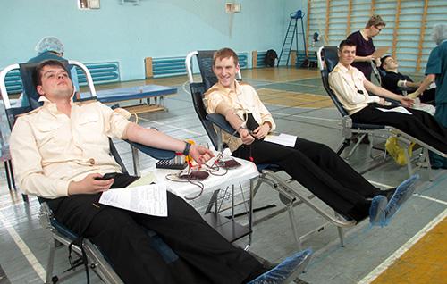 Елена Гудзенко, Краевая станция переливания крови, КСПК, ТГМУ