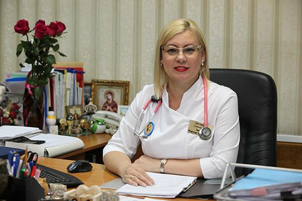 ККЦ СВМП, Краевая детская клиническая больница №1, Надежда Горелик