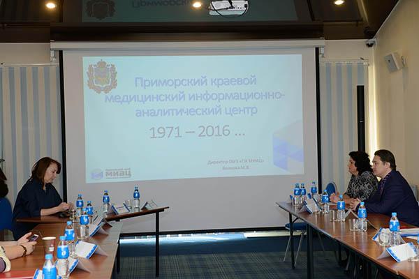 Владивостокская поликлиника №3, МИАЦ, Приморский краевой медицинский информационно-аналитический центр