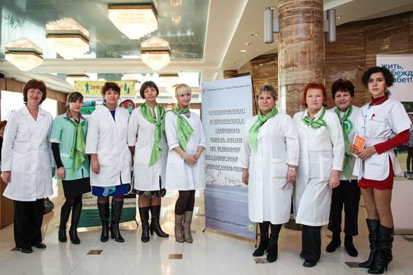 Анжела Кабиева, Владивостокский клинико-диагностический центр