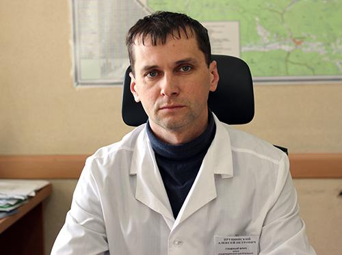 Алексей Прушинский, Надеждинская центральная районная больница, Надеждинская ЦРБ