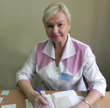 Владивостокская поликлиника №1, Лариса Коркунова