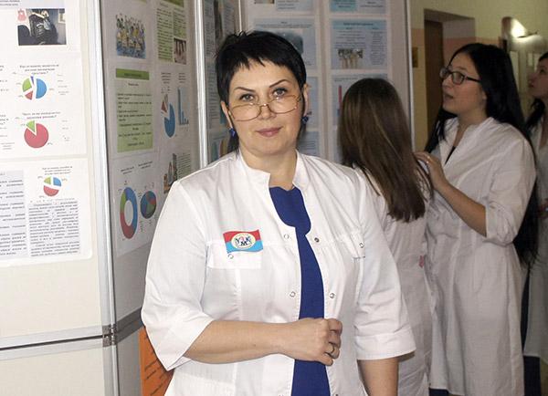 Ирина Буркутова, Уссурийский медицинский колледж