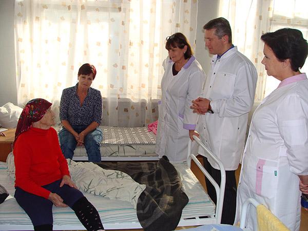 Евгения Махиня, Хасанская центральная районная больница, Хасанская ЦРБ