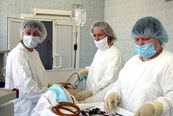 Владимир Супрунов, Елена Гречишникова, Находкинская городская больница
