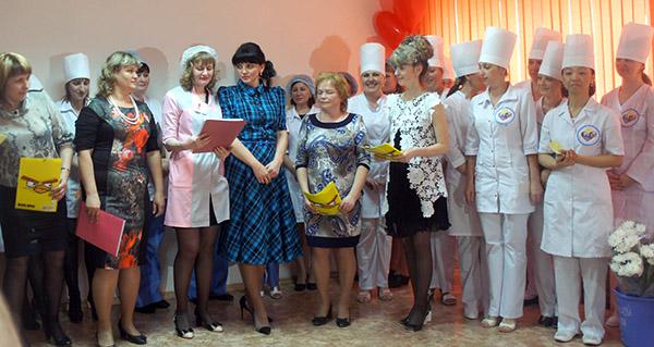 Андрей Скирута, Ирина Уланова, Медсестры Приморского края, Международный день медсестры, Уссурийская центральная городская больница