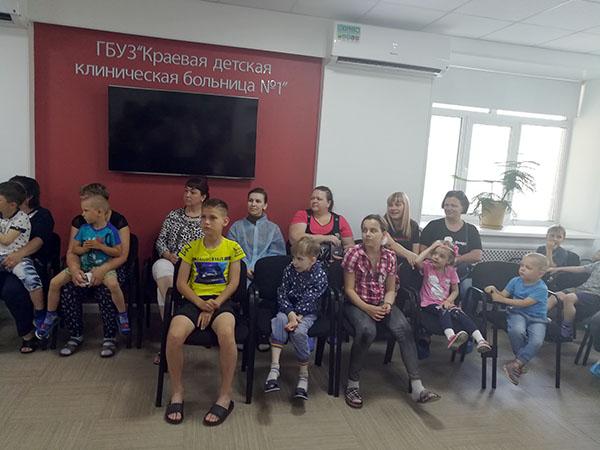 Андрей Выхрестюк, Краевая детская клиническая больница №1, Надежда Горелик