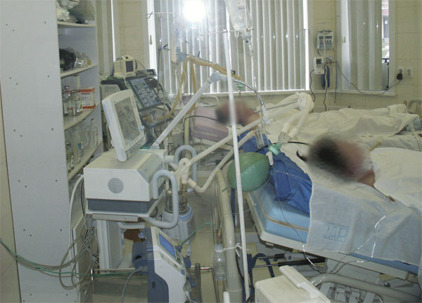 Находкинская городская больница, реанимация