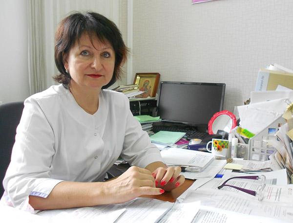 Арсеньевская городская больница, Галина Костина