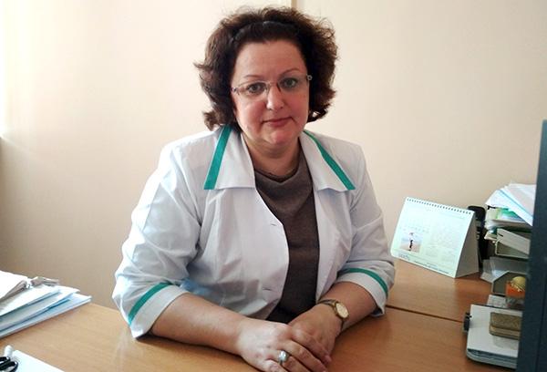 Владивостокская детская поликлиника №2, Елена Москалёва, начмед