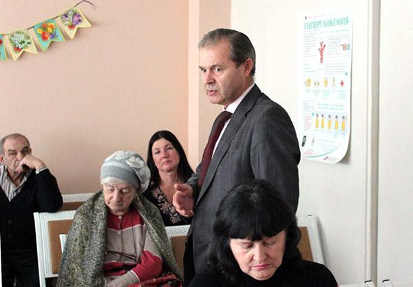 Владивостокская поликлиника №4, встречи с главврачом, Галина Горшунова