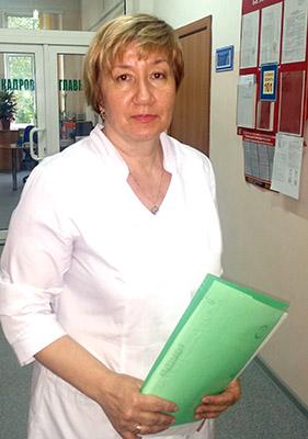 Артёмовская детская больница, Марина Булах