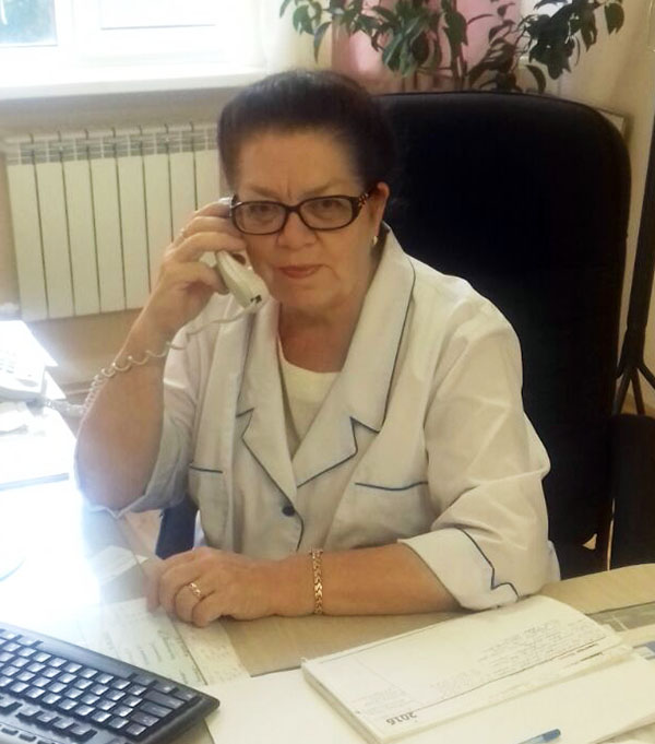 Приморский краевой онкологический диспансер, Светлана Ершова