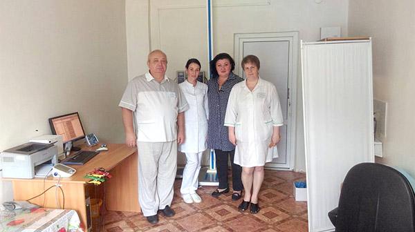 Анжела Кабиева, ВКДЦ, Владивостокский клинико-диагностический центр, Сергей Лебедев