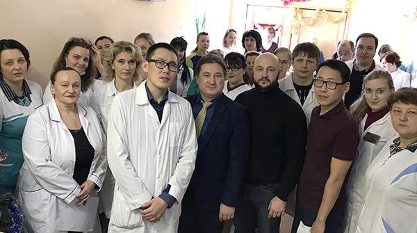Вадим Олейник, Владивостокская поликлиника №3, Ирина Ким, Юрий Образцов