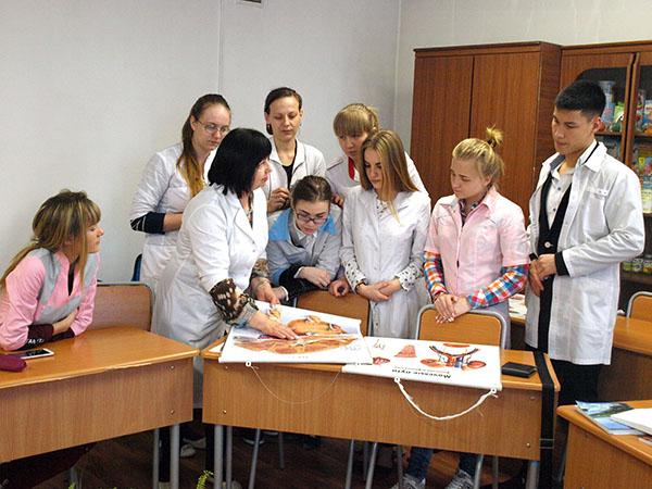 Наталья Лисица, Уссурийский медицинский колледж