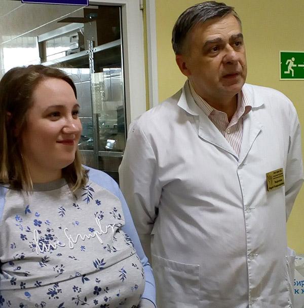 Андрея Выхрестюк, Краевая детская клиническая больница №1, Лилия Оденбах