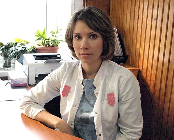 Екатерина Веремчук, Надеждинская ЦРБ