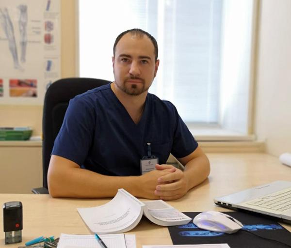 Александр Тарасенко, Узловая больница на ст. Уссурийск ОАО «РЖД»