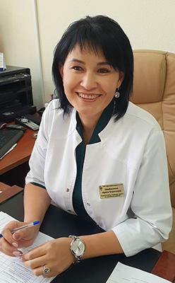 Арсеньевская городская больница, Ирина Щербинкина, начмед