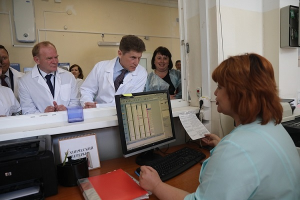 Артёмовская детская больница, Инна Рыжененкова, модернизация, оборудование, Олег Кожемяко, проблемы здравоохранения
