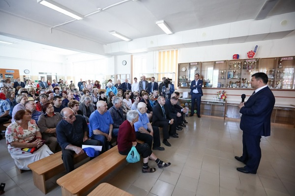 Владимир Изгородин, Пластунская районная больница, Сергей Борщенко