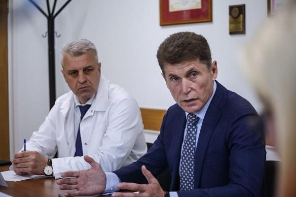 кадровый голод, модернизация, Олег Кожемяко, проблемы здравоохранения, служебное жилье