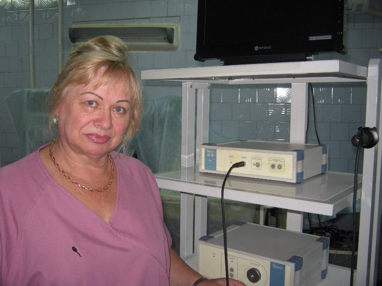 Находкинская городская больница, урология