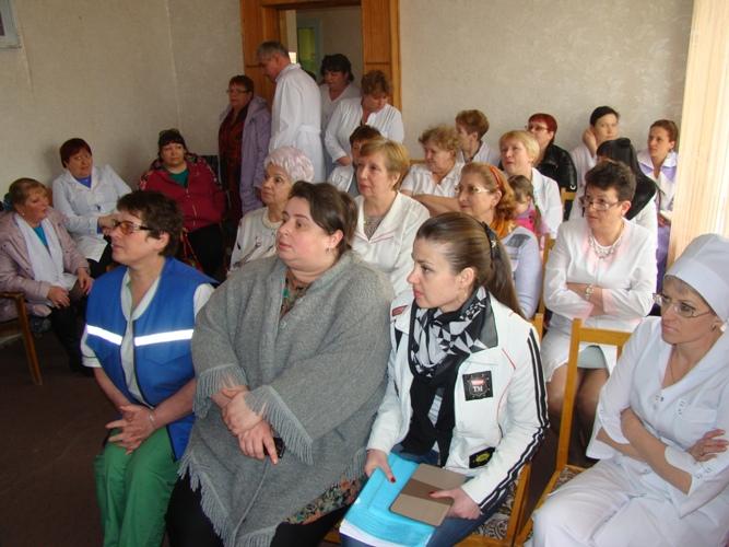 Виталий Шарапов, Красноармейская центральная районная больница, Михаил Радченко